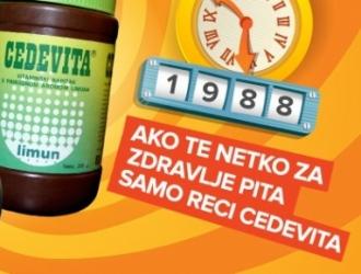 Ako te netko za zdravlje pita reci samo Cedevita!