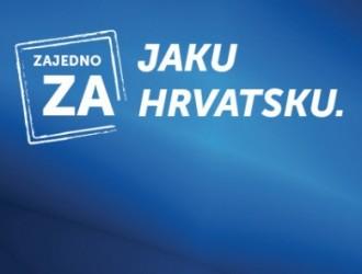 Zajedno za jaku Hrvatsku.